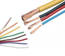 building - Electrical wires and cable