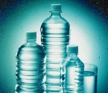 food packaging - Plastic bottles and containers